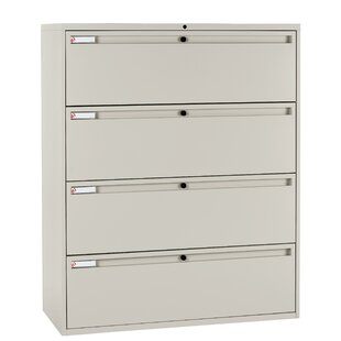 700 Series 4-Drawer Vertical Filling Cabinet by KI Furniture Best