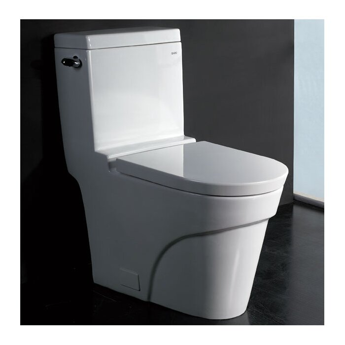 EAGO 1.6 GPF Elongated One-Piece Toilet & Reviews | Wayfair.ca