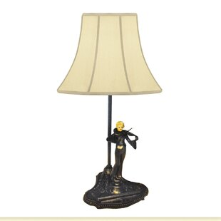 Violin Player Francaise Victoria Accent 16 Table Lamp
