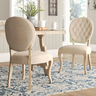 Aletha Upholstered Dining Chair (Set of 2) by Lark Manor SKU:BB978544 Shop