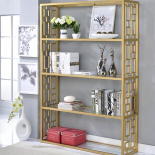 Bortz Etagere Bookcase by Everly Quinn