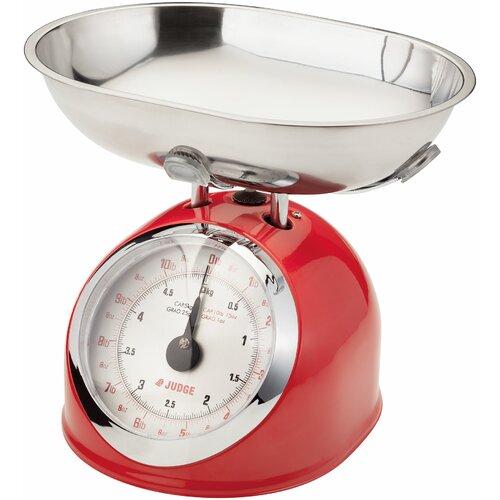 Mechanische Küchenwaage Judge Farbe: Rot | Küche und Esszimmer > Küchengeräte > Küchenwaagen | Judge