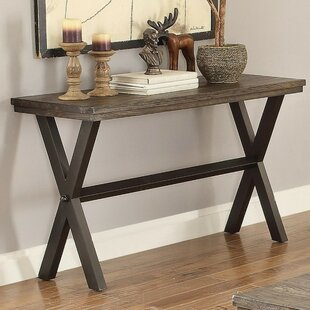 Mielke Modern X Framed Console Table