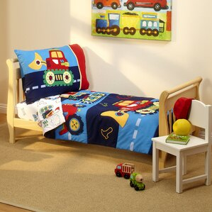 under 4 piece toddler bedding set