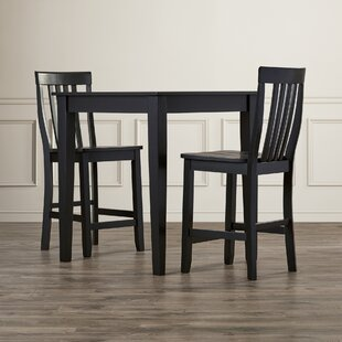 Pittman 3 Piece Pub Table Set by Charlton Home Purchase