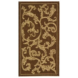 Herefordshire Brown/Natural Indoor/Outdoor Area Rug