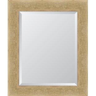 Melissa Van Hise Montecito Ivory Bark Edge Wall Mirror