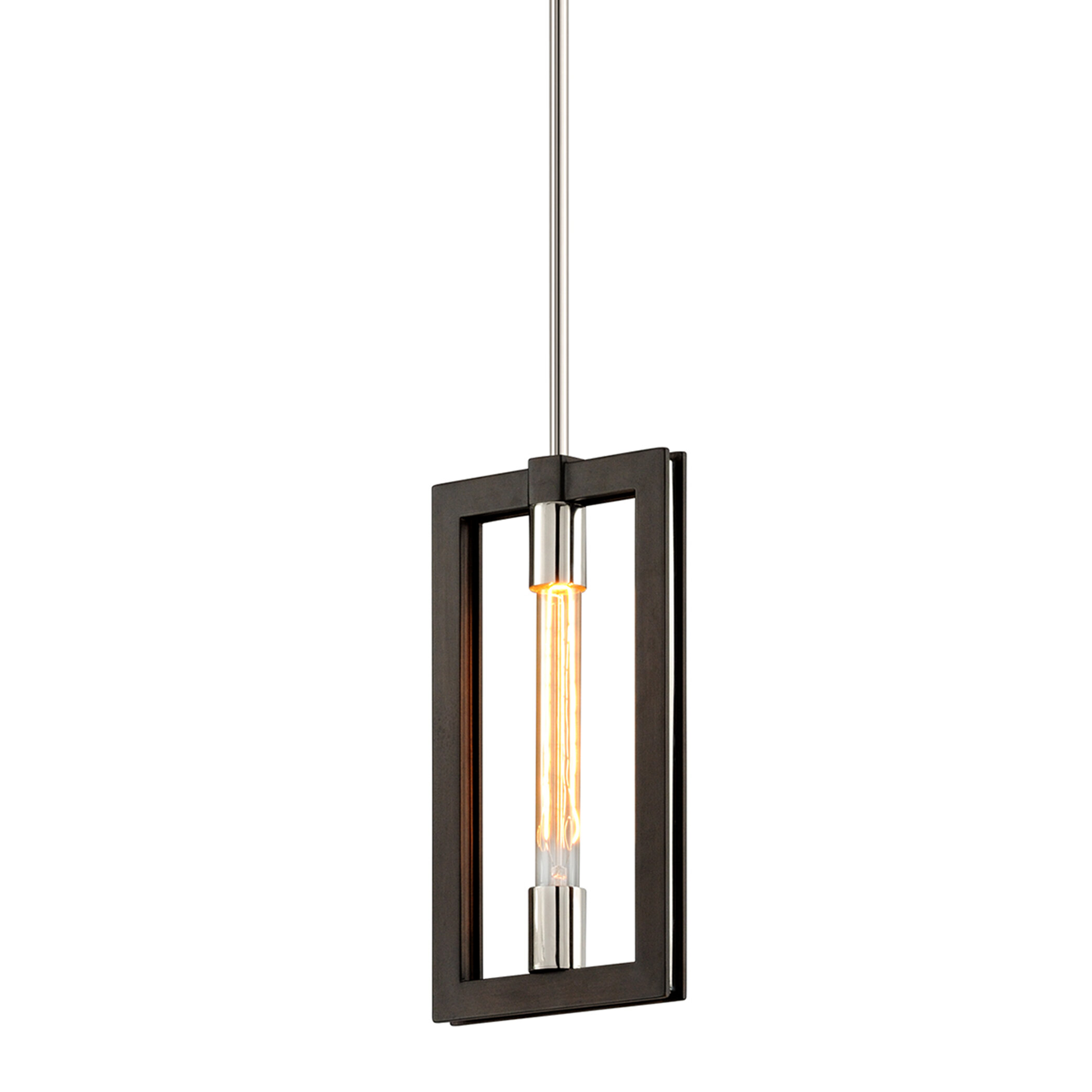 17 Stories Earnhardt 1 Light Single Geometric Pendant Wayfair