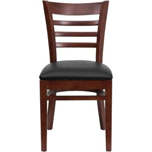 Lyman Chase Ladder Back Side Chair by Andover Mills Wonderful