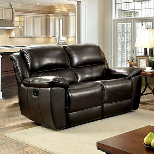 Clearance Hue Leather Loveseat by Red Barrel Studio Reviews (2019) & Buyer's Guide