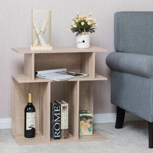 Northmoore Costway End Table With Storage