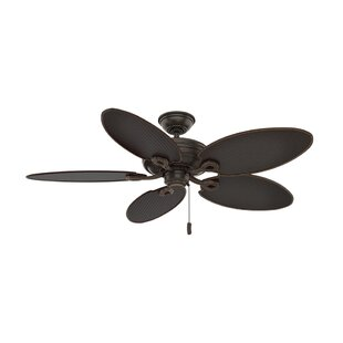 54 Charthouse Onyx Bengal 5 Blade Outdoor Ceiling Fan By Casablanca Fan Outdoor Lighting