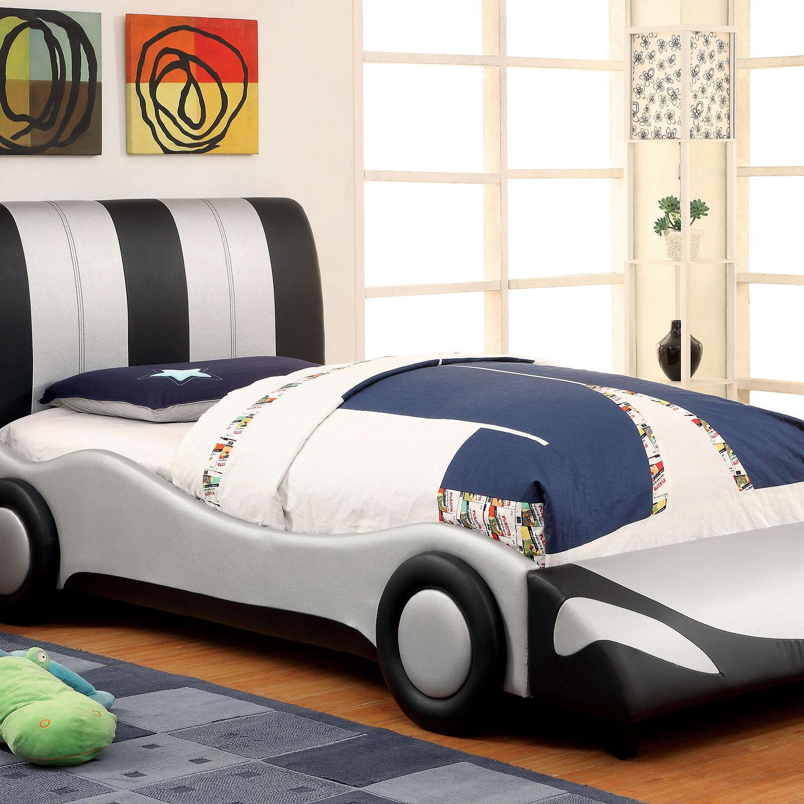 CHILDREN KIDS BED CAR FREE MATTRESS TODDLER BOYS GIRLS 140x70 160x80 180x80 140x70, 8