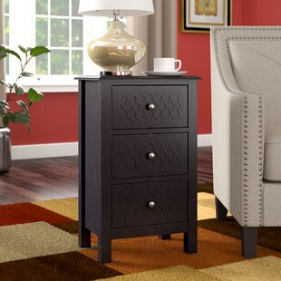 Clitherall Wood End Table with Storage