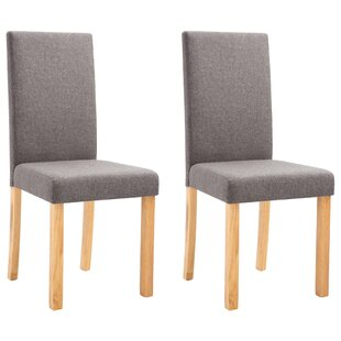 Valpy Upholstered Dining Chair Set of 2 by Ebern Designs