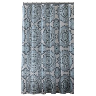 Mandala Design PEVA Shower Curtain By Bath Bliss