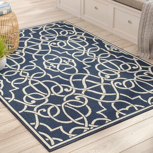 Kailani Navy Indoor/Outdoor Area Rug
