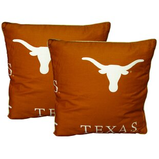 NCAA Throw Pillow (Set of 2) by College Covers