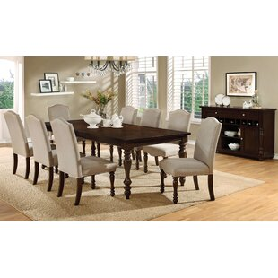 Calila 9 Piece Drop Lea Dining Set Birch Lane™ Heritage