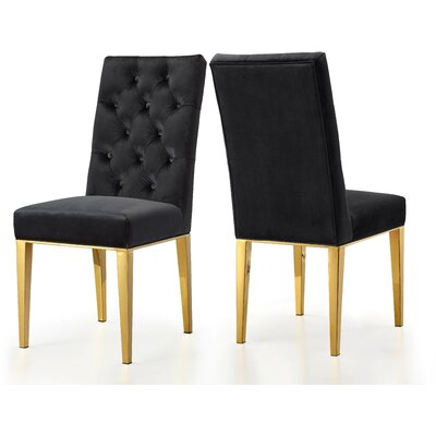 Meridian Marshall (BLACK CHAIRS) Dining Chair   Item# 11343