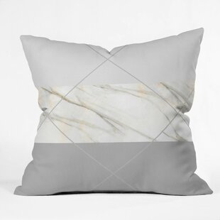 Holley Alaskan Gelato Outdoor Throw Pillow