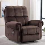 Aeryanna Power Lift Assist Recliner with Massage by Red Barrel Studio®