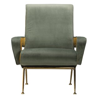 Salvato Cotton Velvet Armchair by Brayden Studio