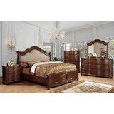 Bentlee Queen Upholstered Platform 5 Piece Bedroom Set (Set of 5) by Astoria Grand