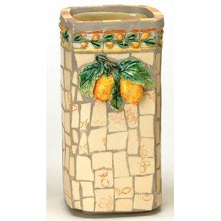 Kayla Mosaic Square Ceramic Vase