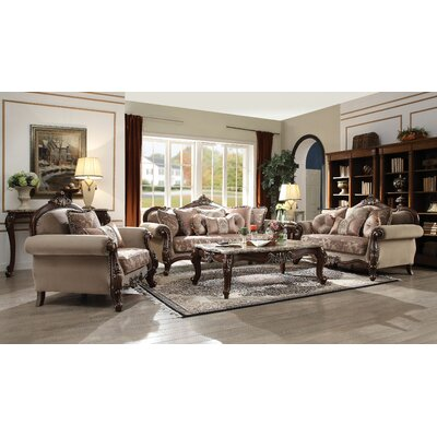 Nebel 3 Piece Living Room Set Astoria Grand