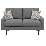 Brookshire 59 Square Arm Loveseat by George Oliver