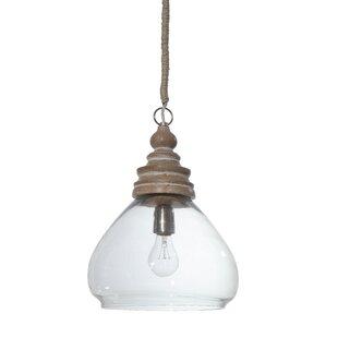 Savings Brisa 1-Light Ceiling Pendant By Mistana