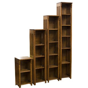 Romriell Mission Spindle Standard Bookcase by Millwood Pines Coupon