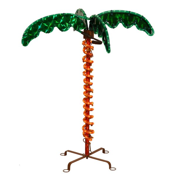 Vickerman Palm Tree Christmas Palm Lighted Display & Reviews | Wayfair