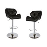 Darley Swivel Adjustable Height Bar Stool (Set of 2) by Mercer41