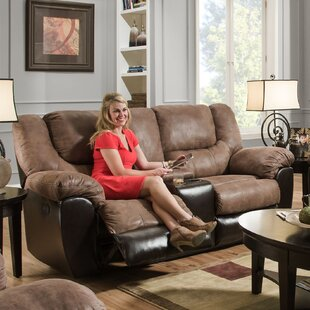 Order Simmons Upholstery Derosier Motion Reclining Loveseat by Darby Home Co Reviews (2019) & Buyer's Guide