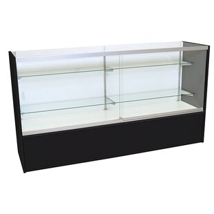 Front Opening Glass Showcase with LED Light By KC Store Fixtures