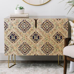 Marta Barragan Camarasa Mystic Tribal Credenza East Urban Home