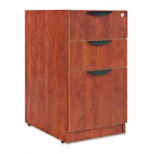 Belle 3-Drawer Vertical filing Cabinet by Red Barrel Studio