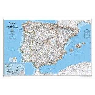 Spain Map Wayfair