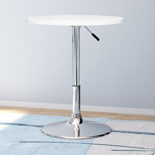 Decicco Adjustable Height Pub Table Orren Ellis