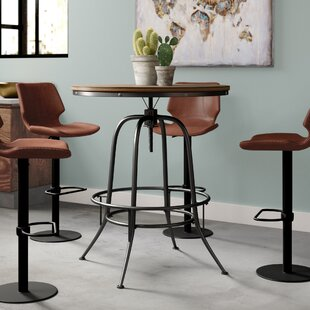 Alva Round Counter-Height Dining Table Trent Austin Design