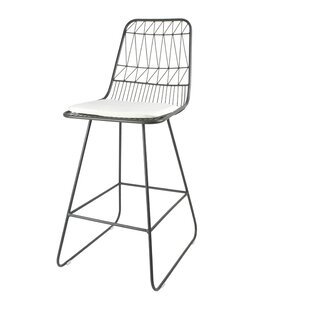 Dunlop Modern Geometric 26.25 Bar Stool (Set of 2)