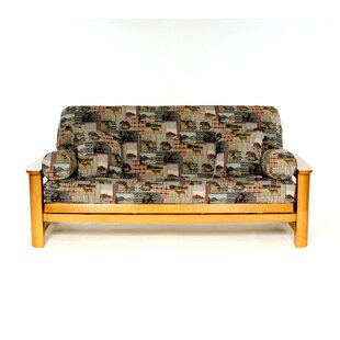 Wild Patch Box Cushion Futon Slipcover by Lifestyle Covers