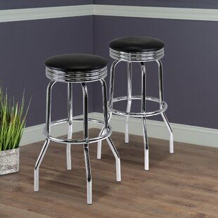 Clarksburg 29.13 Swivel Bar Stool (Set of 2)