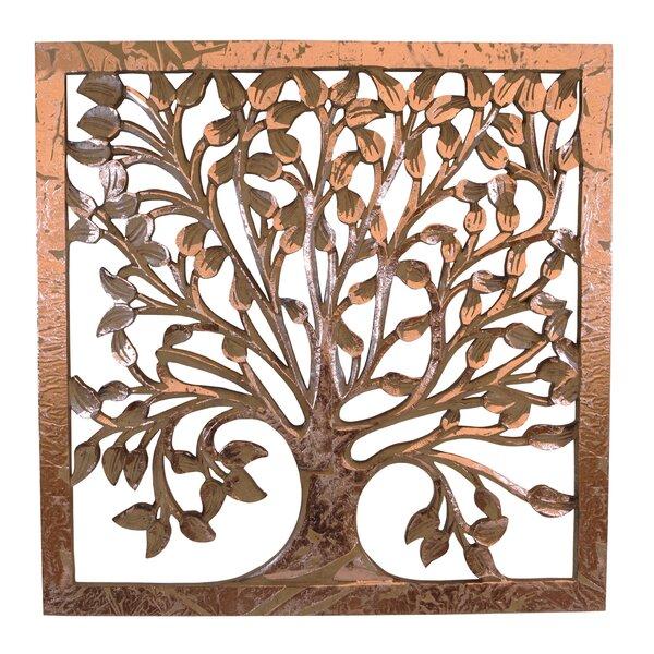 Tree Of Life Metal Wall Art Wayfair Simple Tree Of Life Pattern
