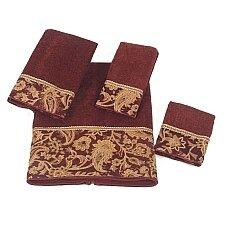 Arabesque 100% Cotton Fingertip Towel