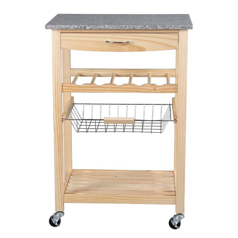 Adayla Vernon Kitchen Cart