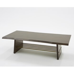 Eatmon Acacia Coffee Table by Brayden Studio
