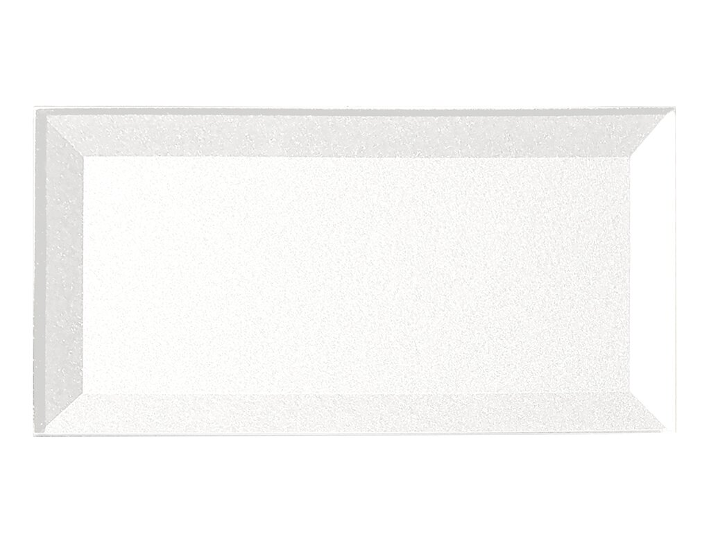 excellent dimensions of subway tile. Secret Dimensions 3  x 6 Glass Subway Tile in Glossy White Abolos